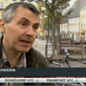 Christian Schwerin, Erfinder des BikeLogger im Interview bei N-TV