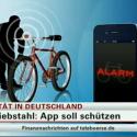 N-TV berichtet über die Alarmanlage für Fahrräder