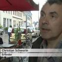 Christian Schwerin, Erfinder des BikeLogger, im Interview beim MDR