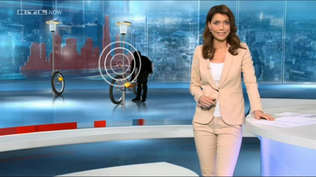 Der BikeLogger Samstags in den Abendnachrichten bei RTL aktuell.